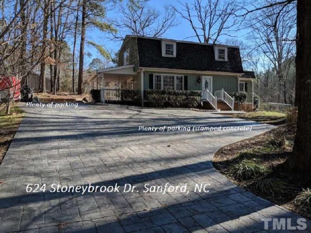 624 Stoneybrook Drive, Sanford, NC 27330 (#2172474) :: The Jim Allen Group