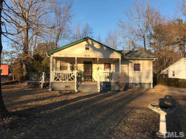415 Faucette Mill Road, Hillsborough, NC 27278 (#2172773) :: The Jim Allen Group