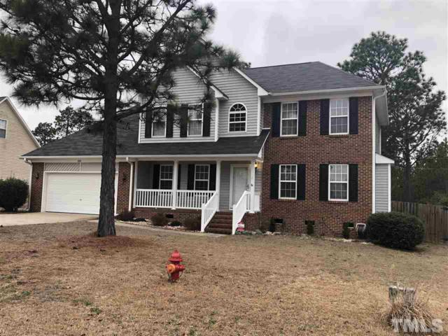 350 Dunbar Drive, Lillington, NC 27546 (#2172994) :: The Abshure Realty Group