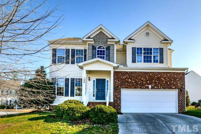 105 Owl Creek Court, Holly Springs, NC 27540 (#2173204) :: The Jim Allen Group