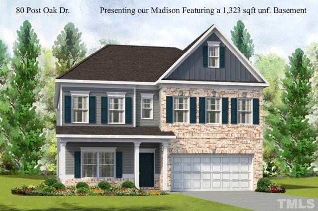 80 Post Oak Drive, Louisburg, NC 27549 (#2173234) :: Raleigh Cary Realty