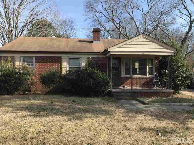 1005 S 2nd Street, Lillington, NC 27546 (#2173596) :: The Abshure Realty Group