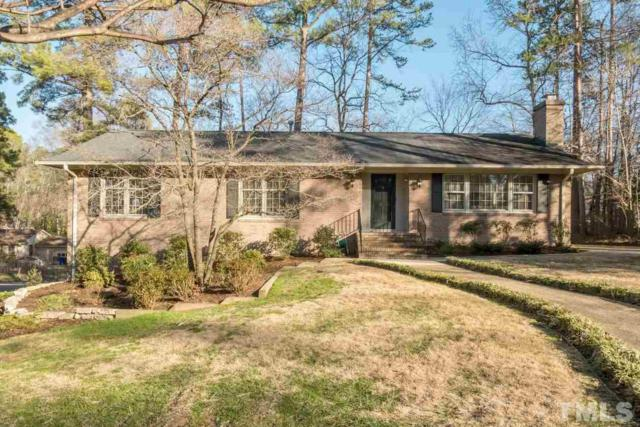 801 Emory Drive, Chapel Hill, NC 27514 (#2173688) :: Better Homes & Gardens | Go Realty