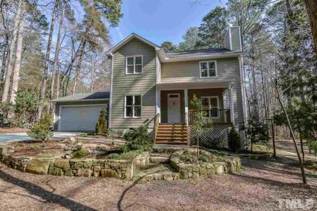 1417 Indian Camp Road, Chapel Hill, NC 27516 (#2173698) :: Better Homes & Gardens | Go Realty