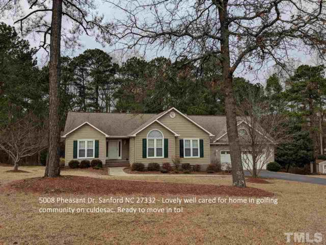 5008 Pheasant Circle, Sanford, NC 27332 (#2173965) :: The Abshure Realty Group