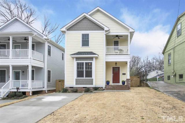 820 E Davie Street, Raleigh, NC 27601 (#2174705) :: M&J Realty Group