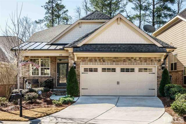 640 Angelica Circle, Cary, NC 27518 (#2174903) :: The Abshure Realty Group