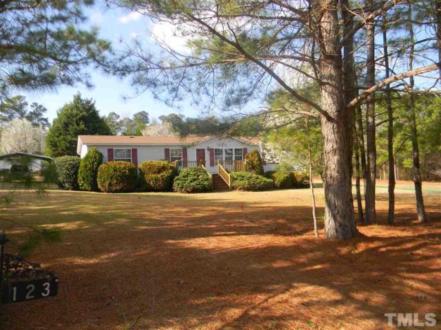 123 Cove Lane, Four Oaks, NC 27524 (#2174932) :: Rachel Kendall Team, LLC