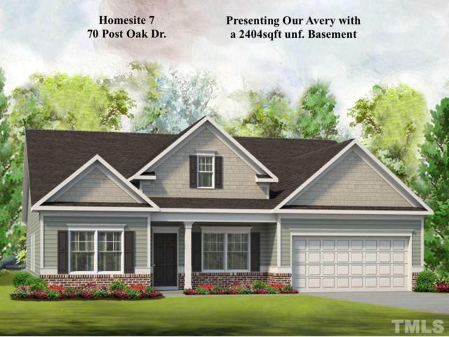 70 Post Oak Drive, Louisburg, NC 27549 (#2175624) :: Rachel Kendall Team, LLC
