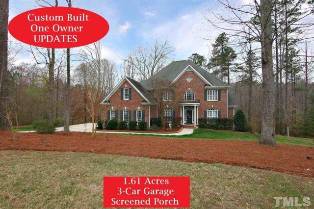 8649 Barrett Ridge Road, Wake Forest, NC 27587 (#2175885) :: Raleigh Cary Realty