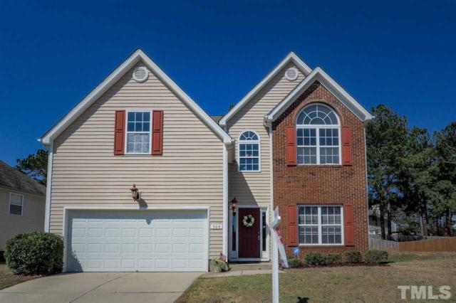 308 Pyracantha Drive, Holly Springs, NC 27540 (#2176665) :: The Abshure Realty Group