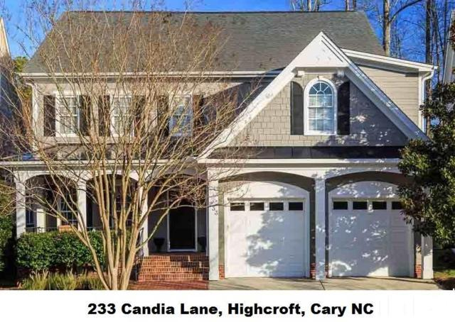 233 Candia Lane, Cary, NC 27519 (#2177082) :: Raleigh Cary Realty
