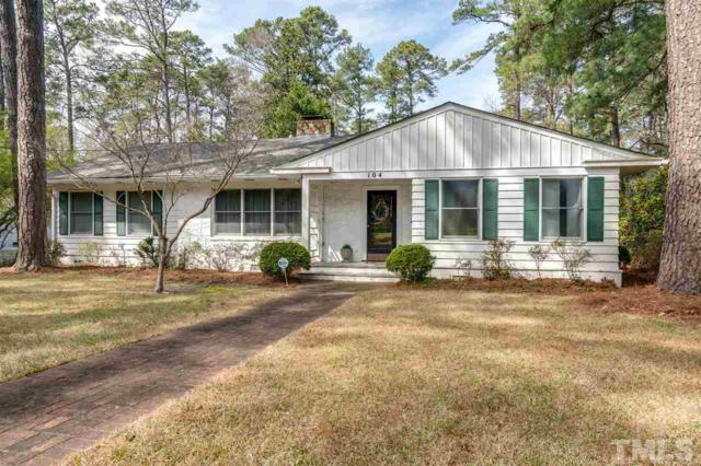 104 Wildwood Drive, Rocky Mount, NC 27803 (#2178267) :: The Abshure Realty Group