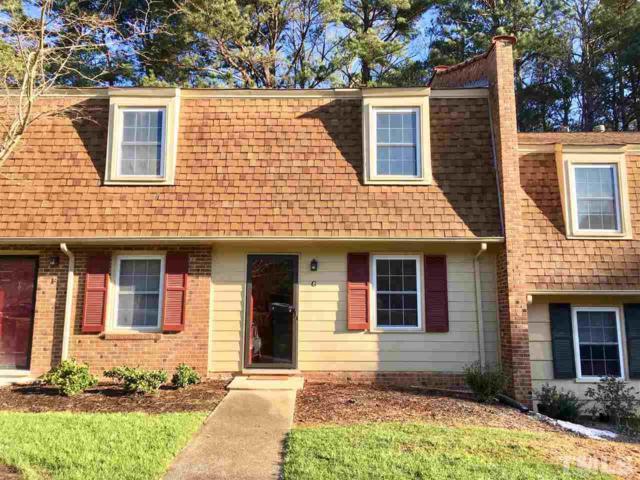 4706 Bluebird Court G, Raleigh, NC 27606 (#2178410) :: RE/MAX Real Estate Service