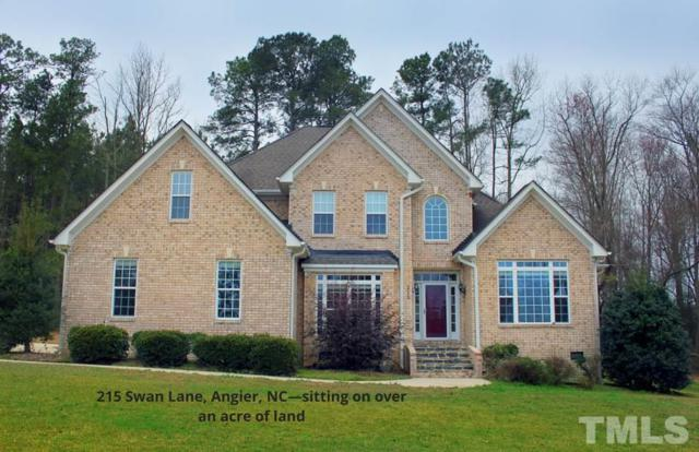 215 Swan Lane, Angier, NC 27501 (#2178586) :: Rachel Kendall Team, LLC