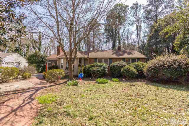 439 Ridgefield Road, Chapel Hill, NC 27517 (#2179289) :: Raleigh Cary Realty