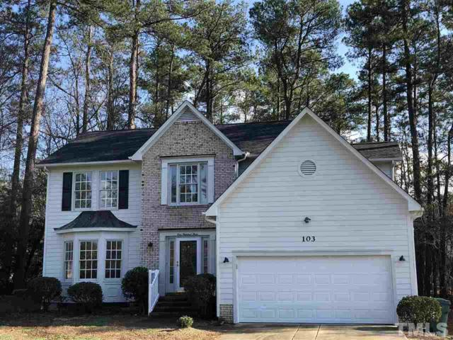 103 Settlers Mill Lane, Durham, NC 27713 (#2179657) :: Raleigh Cary Realty