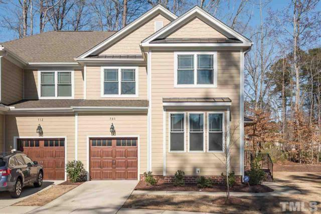 508 Lena Circle, Chapel Hill, NC 27516 (#2180079) :: Raleigh Cary Realty