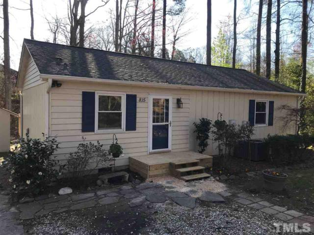 815 Griffis Street, Cary, NC 27511 (#2180434) :: The Abshure Realty Group