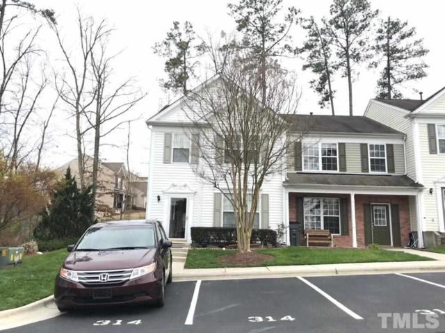 314 Canyon Lake Circle, Morrisville, NC 27560 (#2181561) :: The Abshure Realty Group