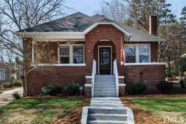 2231 The Circle, Raleigh, NC 27608 (#2181573) :: Raleigh Cary Realty