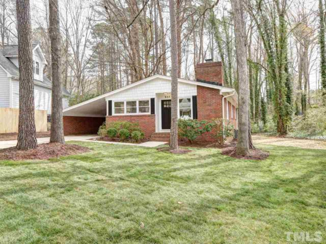 937 Pamlico Drive, Cary, NC 27511 (#2181644) :: Raleigh Cary Realty