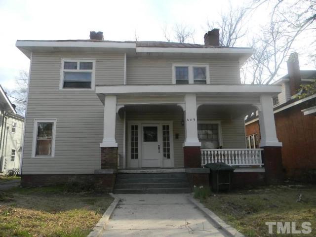 609 Hammond Street, Rocky Mount, NC 27804 (#2181781) :: Rachel Kendall Team, LLC