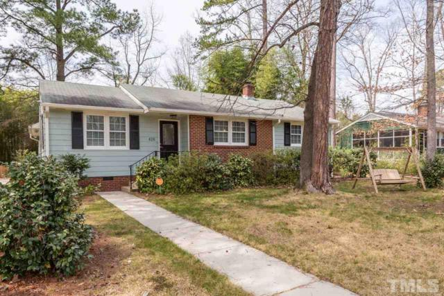 426 Hickory Drive, Chapel Hill, NC 27517 (#2182408) :: The Jim Allen Group
