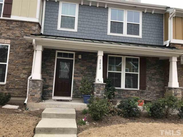 2413 Historic Circle, Morrisville, NC 27560 (#2182720) :: The Abshure Realty Group