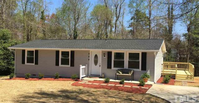 209 Holly Acres Road, Holly Springs, NC 27540 (#2183220) :: Rachel Kendall Team, LLC