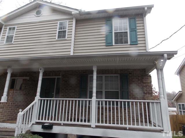1311 Hill Street B, Durham, NC 27707 (#2183295) :: Rachel Kendall Team, LLC