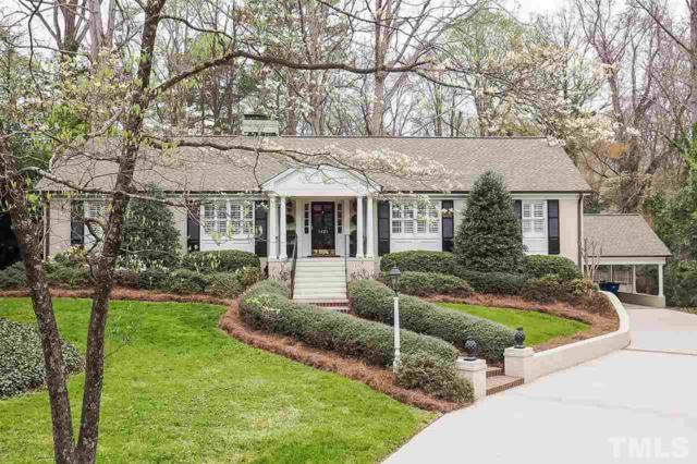 1421 Lutz Avenue, Raleigh, NC 27607 (#2183304) :: The Jim Allen Group