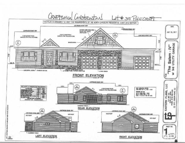 lot 35 Woods Edge Drive, Dunn, NC 28334 (#2183305) :: The Perry Group