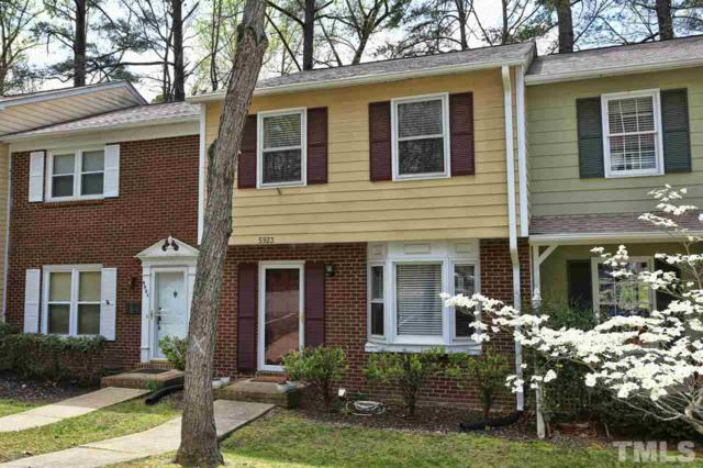 5923 Dixon Drive, Raleigh, NC 27609 (#2184438) :: The Abshure Realty Group
