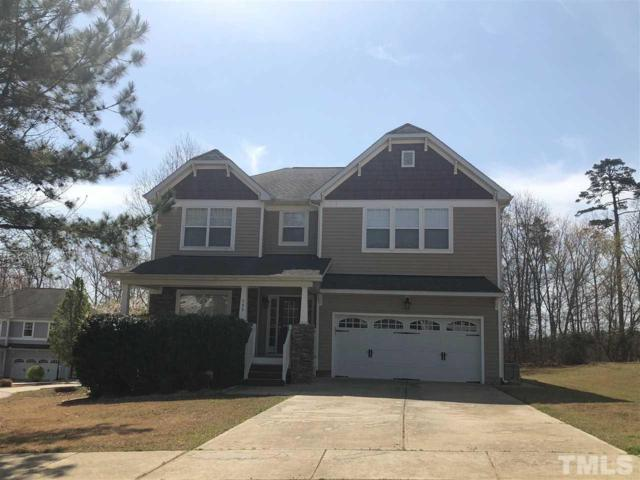 295 Clubhouse Drive, Youngsville, NC 27596 (#2184554) :: The Abshure Realty Group