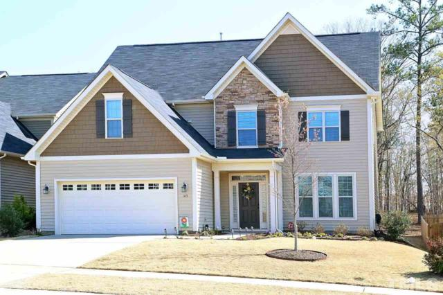 105 Ladys Mantle Lane, Holly Springs, NC 27540 (#2184804) :: Rachel Kendall Team, LLC