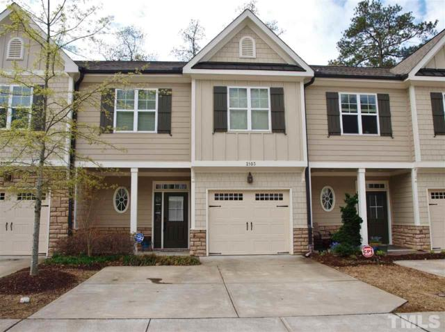 2103 Scarlet Maple Drive, Raleigh, NC 27606 (#2185195) :: Raleigh Cary Realty