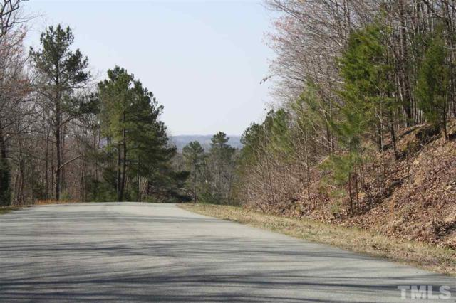 Lot 1 Uwharrie Ridge Road, Pittsboro, NC 27312 (#2185301) :: Spotlight Realty