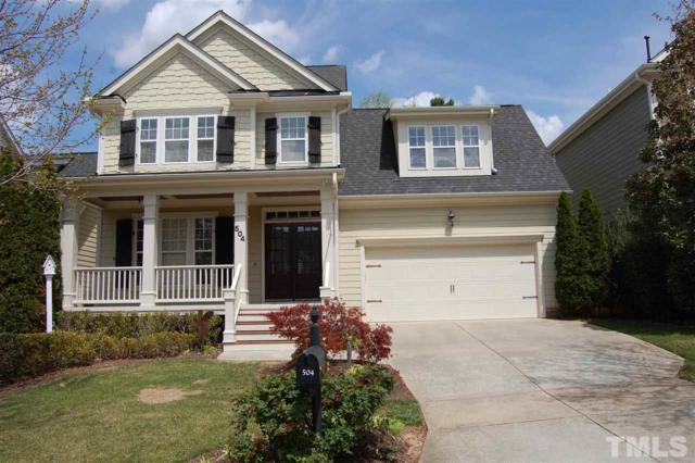 504 Skygrove Drive, Holly Springs, NC 27540 (#2185554) :: The Jim Allen Group