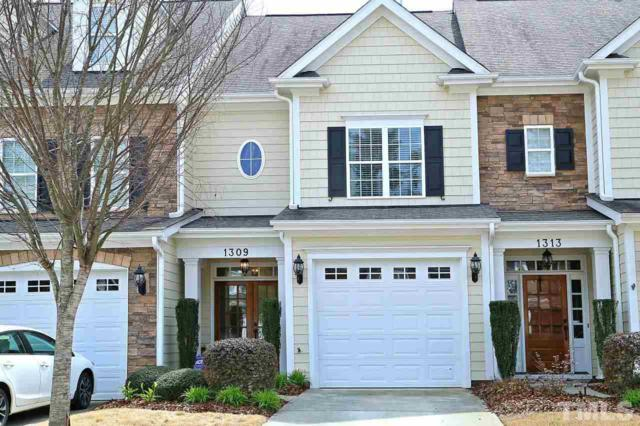 1309 Checkerberry Drive, Morrisville, NC 27560 (#2185761) :: Better Homes & Gardens | Go Realty