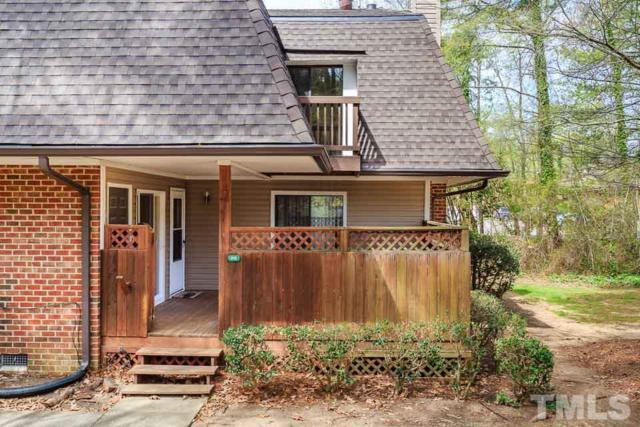 315 Finley Forest Drive #315, Chapel Hill, NC 27517 (#2185774) :: Raleigh Cary Realty