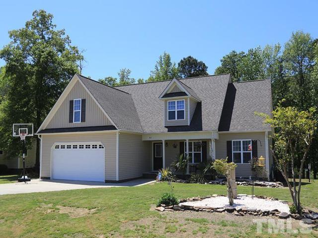 81 Bluestone Drive, Smithfield, NC 27577 (#2186183) :: The Abshure Realty Group