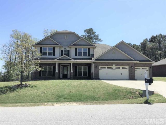 86 Lake Refuge Court, Angier, NC 27501 (#2186610) :: M&J Realty Group