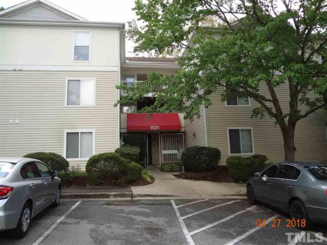 1521 Graduate Lane #302, Raleigh, NC 27606 (#2188141) :: Raleigh Cary Realty