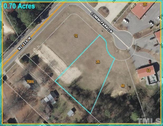 26 Comm Park Lane, Angier, NC 27501 (#2188738) :: Allen Tate Realtors