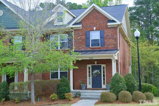 2063 Weston Green Loop, Cary, NC 27513 (#2189655) :: The Abshure Realty Group