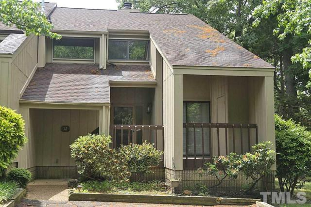 4100 Five Oaks Drive #12, Durham, NC 27707 (#2191649) :: Raleigh Cary Realty
