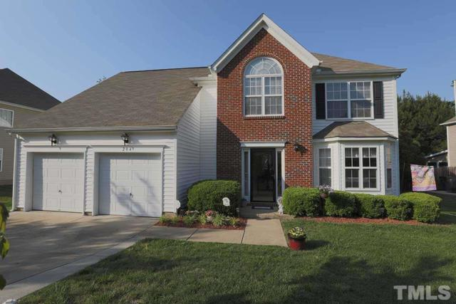 204 Talley Ridge Drive, Holly Springs, NC 27540 (#2192328) :: Raleigh Cary Realty