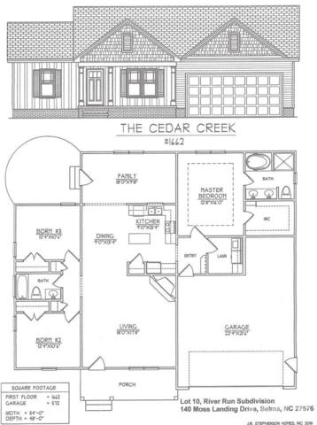 140 Moss Landing Drive, Selma, NC 27576 (#2193194) :: The Perry Group