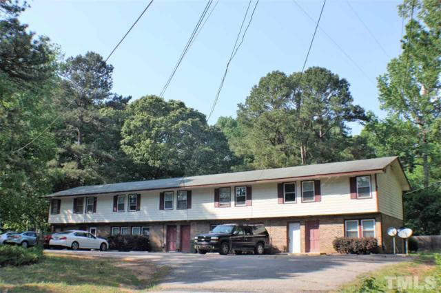 206 - 216 Fox Park Road, Louisburg, NC 27549 (#2194057) :: Better Homes & Gardens | Go Realty